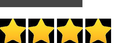 5 Stars Average User Rating