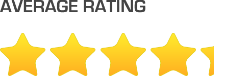 4.3 Stars Average User Rating