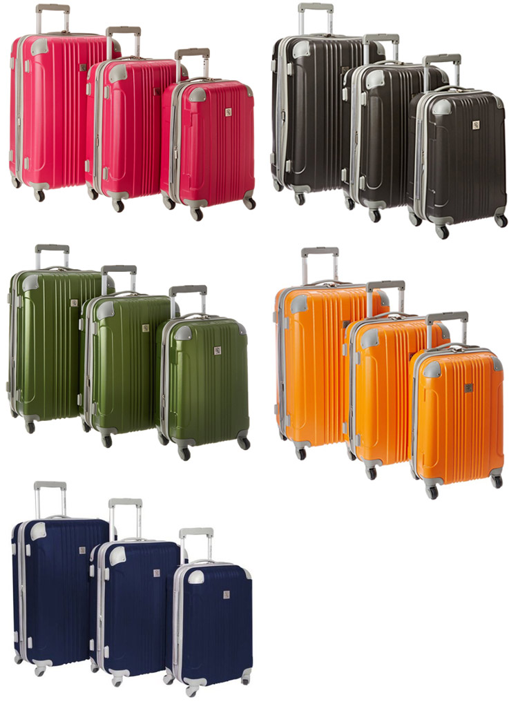 Color Options of Beverly Hills Country Club Malibu Luggage Set