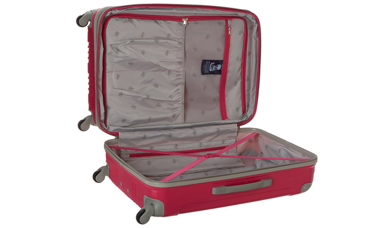 Beverly Hills Country Club Malibu Luggage Set - Interior