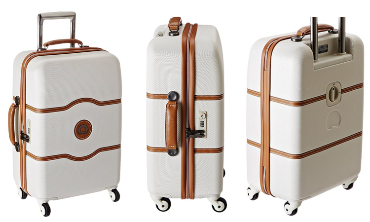 Sides of Delsey Chatelet Luggage