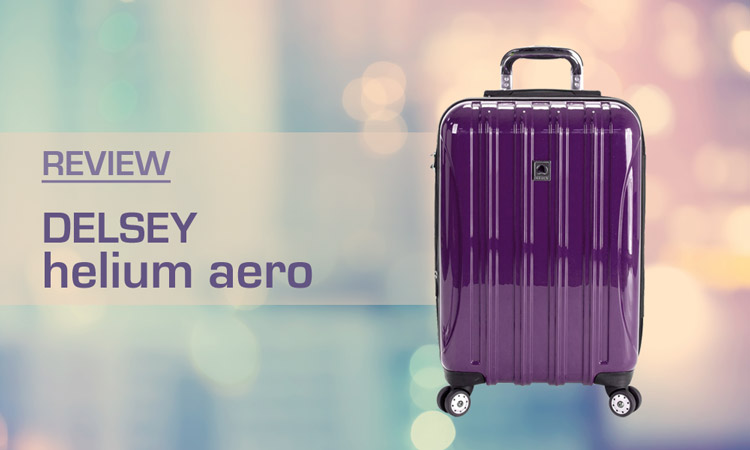 "REVIEWED! Delsey Helium Aero 19"" Luggage"