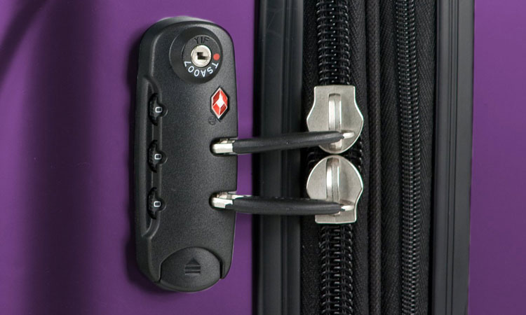 Delsey Helium Aero Carry-On - TSA Lock