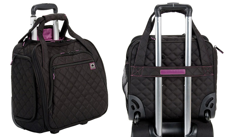 Delsey Underseat Tote - Front & Back
