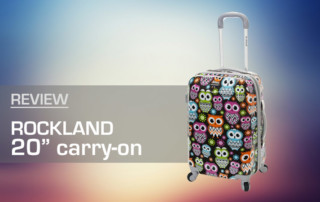 "Rockland Owl 20"" Carry-On Review"