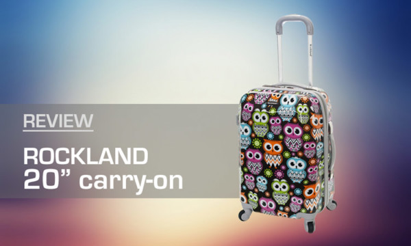 """Rockland Owl 20"""" Carry-On Review"""