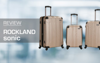Reviewed: Rockland Sonic Luggage Set