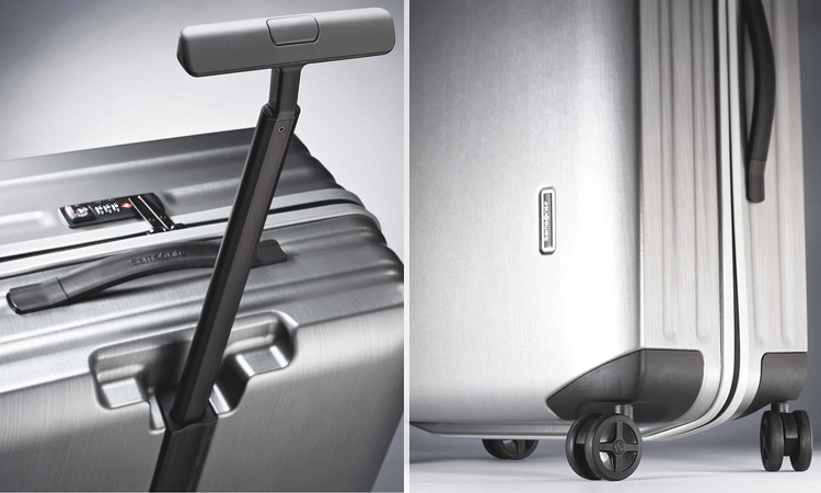 Samsonite Inova Carry-On - Handle & Wheels