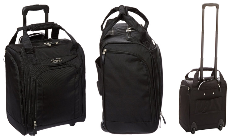 Samsonite Luggage Underseater - Front & Back
