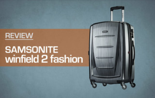 9c3fa3c56 Review: Samsonite Winfield Luggage 2 Fashion Hardside Spinner