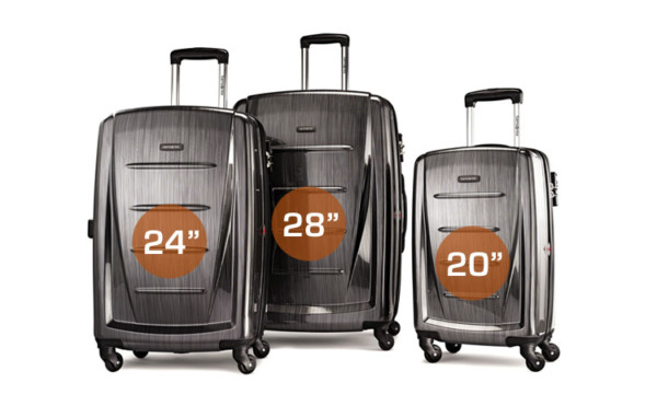 "Available in Sizes 20"", 24"", 28"" - Samsonite Luggage Winfield 2 Fashion"