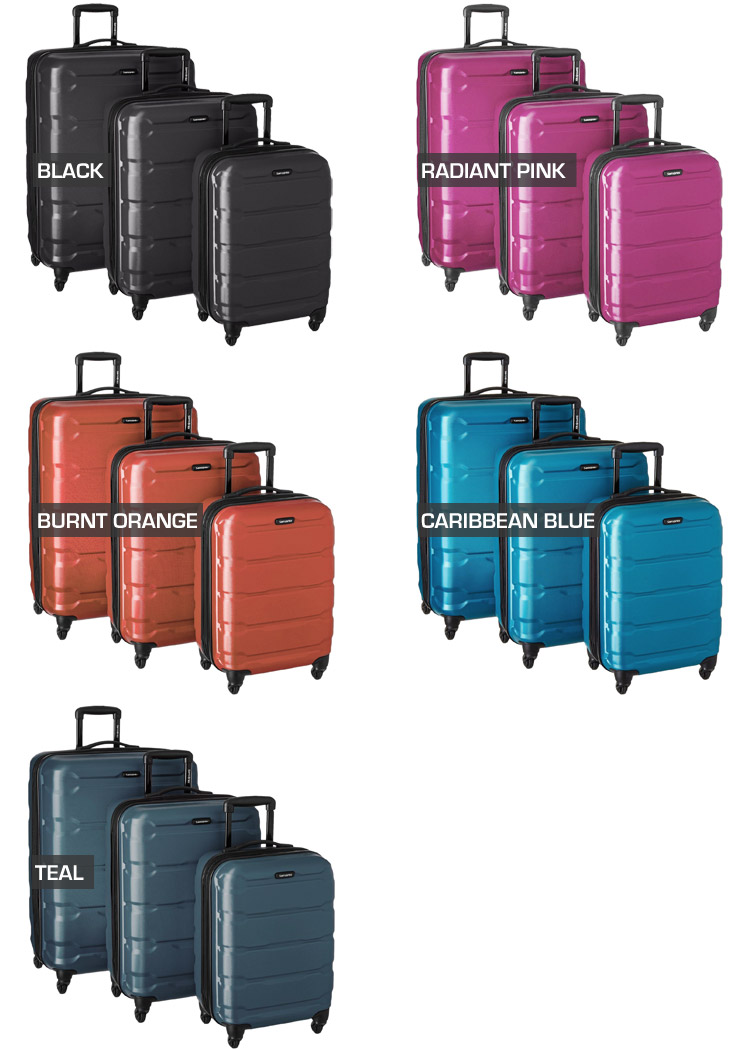 Samsonite Omni Luggage Set - Color Options