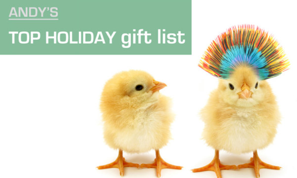 Andys Top Holiday Gifts 2016