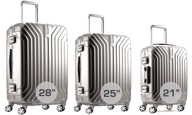 Samsonite Tru-Frame Luggage - Sizes