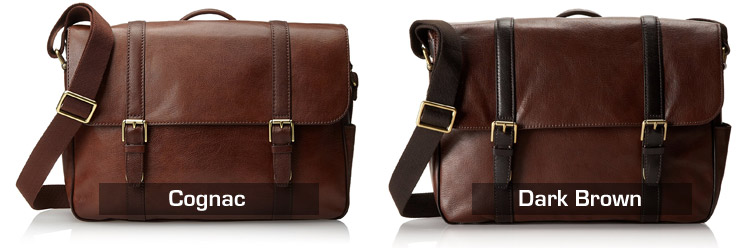 Fossil Saffiano Leather Messenger Bag Colors