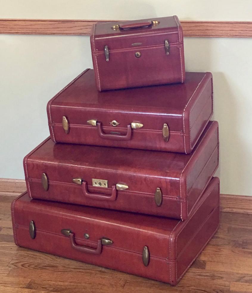 Top 9 Vintage Samsonite Luggage Suitcases