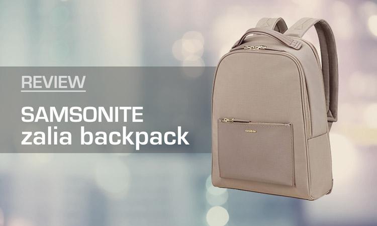adde2c0179e1 Samsonite Zalia Backpack Review
