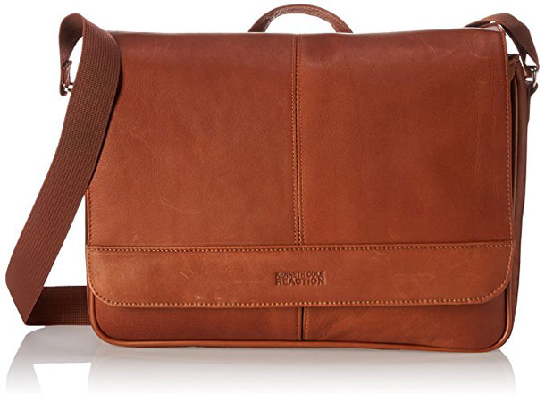 Kenneth Cole Reaction Risky Business Leather Messenger Bag Review