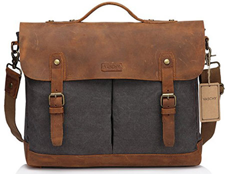 Vaschy-Leather-Canvas-Messenger-Bag-main