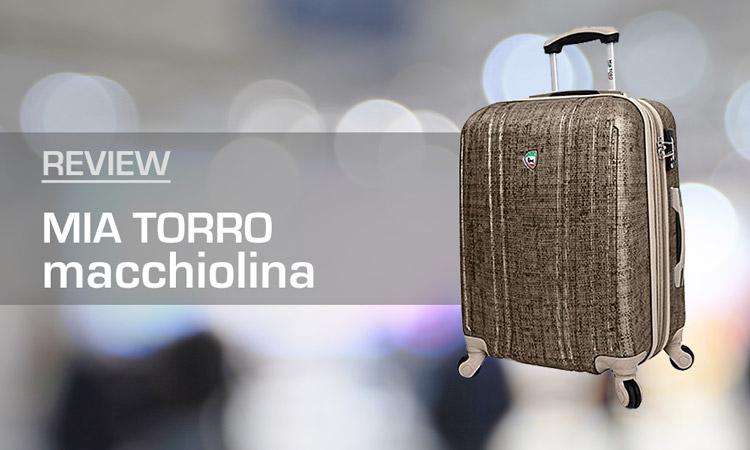 Mia Torro Macchiolina Suitvcase Review