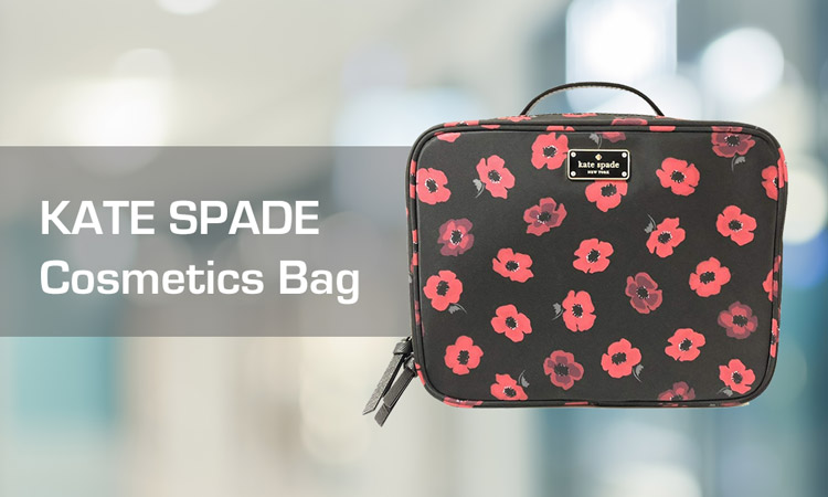 Kate Spade Cosmetics Bag Review