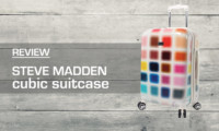 Steve Madden Cubic Suitcase Review