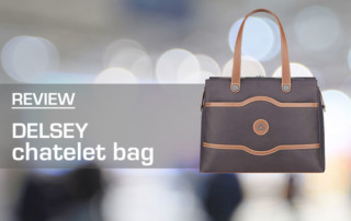 Delsey Chatelet Shoulder Bag Review