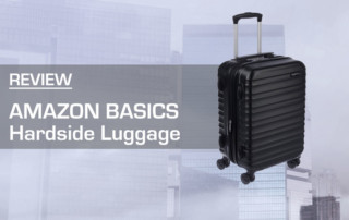 AmazonBasics Hardside Luggage Review
