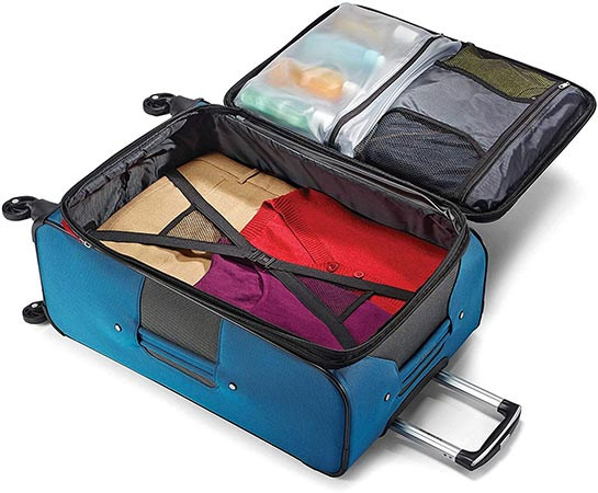 Samsonite Aspire xLite Interior Organizing Compartments