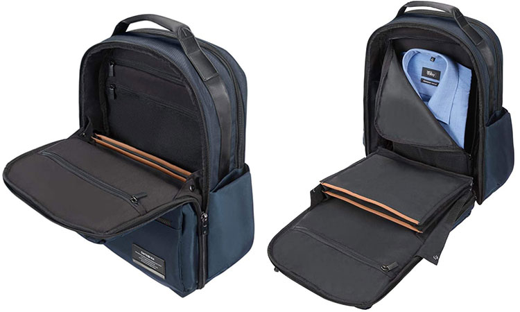 Samsonite OpenRoad Laptop Backpack Interior Pockets